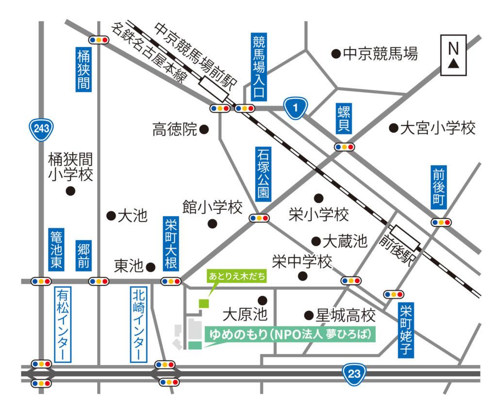 ゆめのもりの地図mp画像